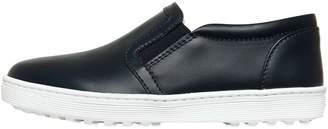Tod's Leather Slip-On Sneakers