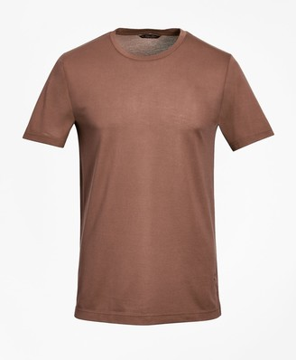 Brooks Brothers Tailored Lightweight Supima Cotton Pique T-Shirt
