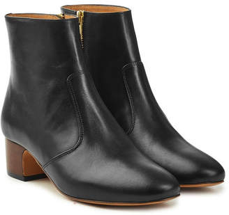 A.P.C. Joey Leather Ankle Boots
