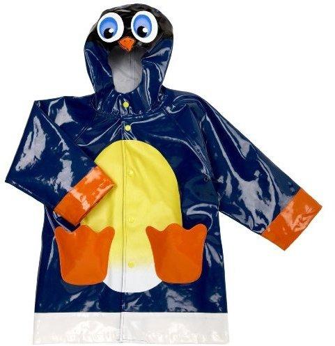 Western Chief Toddler/Little Kid Penguin Rain Jacket