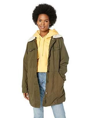 Steve Madden Women's Denim Walker Jacket, M