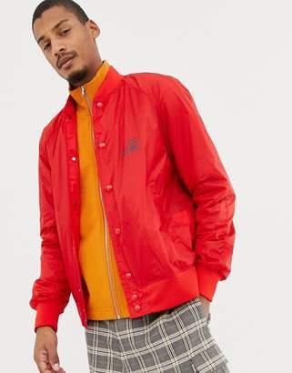 ef1116a24ef0f Love Moschino back print lightweight bomber jacket