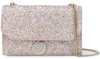 Jimmy Choo Finley glittered crossbody bag