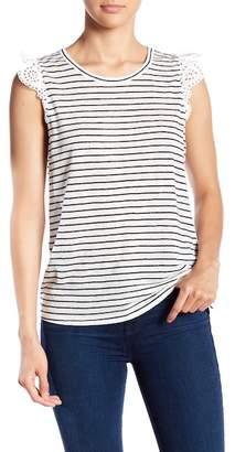 Joie Acenath Striped Linen Tank Top