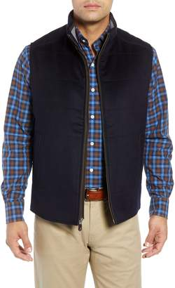 Peter Millar Darien Crown Fleece Wool & Cashmere Vest