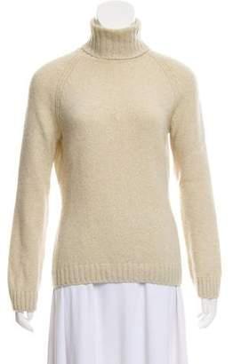 Loro Piana Heavy Wool Turtleneck Sweater