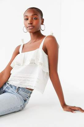 Urban Outfitters Coco Ruffle Lace Cami