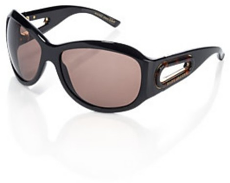 Marc Jacobs Collection Round with Cut-Out Sunglasses