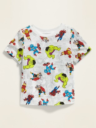 Old Navy Marvela Mini Avengers Print Tee for Toddler Boys