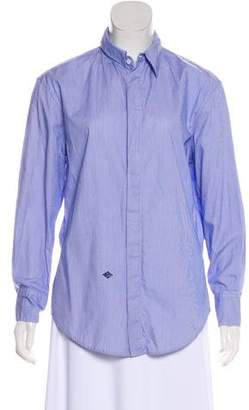 Boy By Band Of Outsiders Striped Button-Up Top w/ Tags