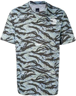 Oamc logo wave print T-shirt