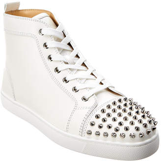 82adfce65513 Christian Louboutin Lou Spikes Leather Sneaker