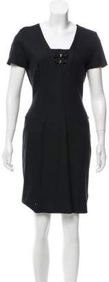 Blumarine Embellished Knit Dress