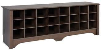 Winston Porter Ingham Shoe Cubby Storage Bench