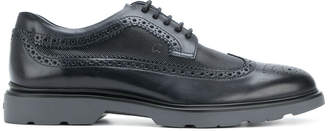 Hogan perforated brogues