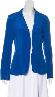 Naven Silk Collared Blazer