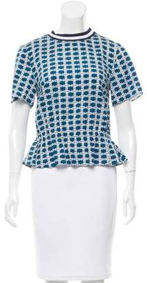 Tanya Taylor Silk Maggie Top w/ Tags