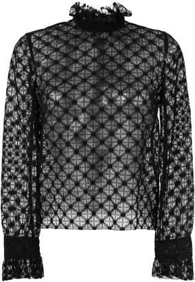 Philosophy di Lorenzo Serafini sheer lace blouse