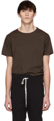 John Elliott Brown Classic Crew T-Shirt