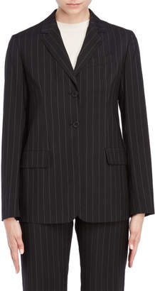 Jil Sander Pinstripe Two-Button Blazer