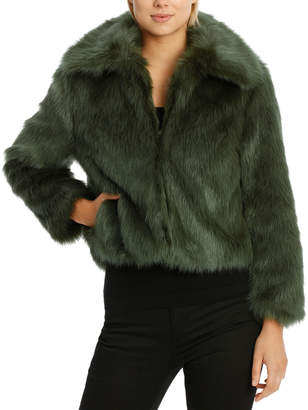 Jacket Fur with Collar
