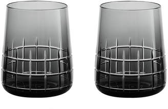 Christofle Graphik Goblets - Set of 2 - Grey