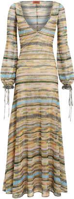 Missoni Pastel Lame Maxi Dress