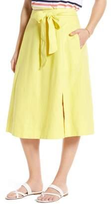 1901 Side Slit Midi Skirt