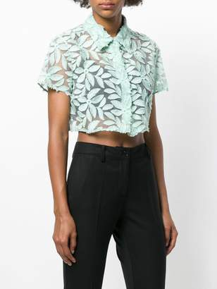 Mantu floral lace blouse