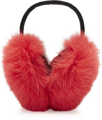 Joshua Sanders Foxy Sport Two Tone Fur Earmuffs