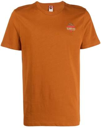 The North Face bouldering print T-shirt