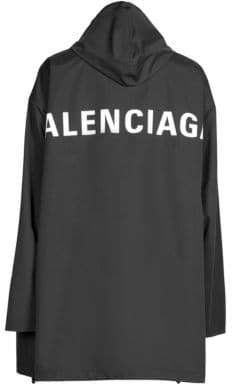 Balenciaga Hooded Windbreaker
