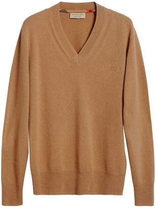 Burberry cashmere v-neck sweater