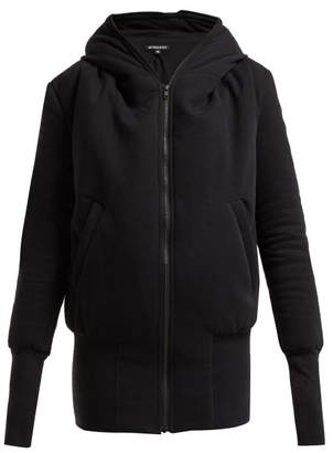 Ann Demeulemeester Padded Hooded Jacket - Womens - Black