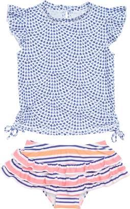 Snapper Rock Teardrop Two-Piece Rashguard Swimsuit