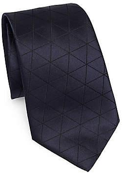 Emporio Armani Men's Diamond Check Tie
