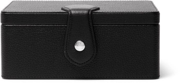 Alfred DunhillDunhill Boston Full-Grain Leather Watch and Cufflink Box