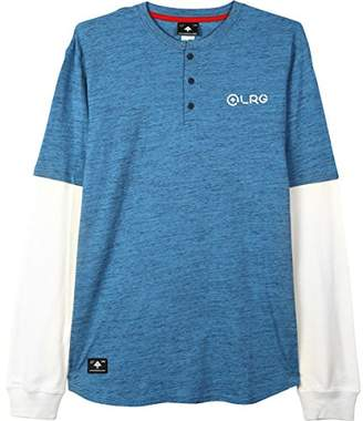 Lrg Men's Double up Long Sleeve Knit