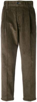 Pt01 corduroy straight trousers