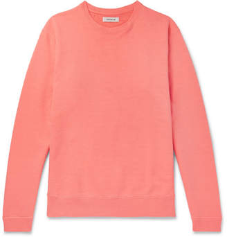 Nonnative Coach Garment-Dyed Loopback Cotton-Jersey Sweatshirt - Men - Orange