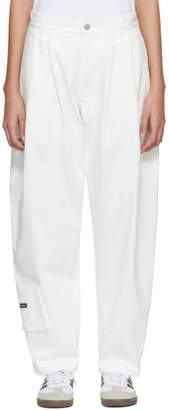 Gosha Rubchinskiy White Carpenter Fit Jeans