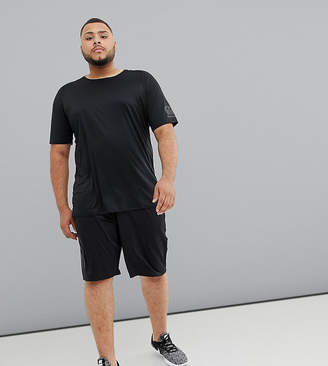 Canterbury of New Zealand Plus Vapodri Stretch Knit Shorts In Black Exclusive To ASOS