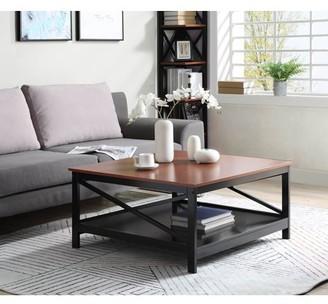 "Convenience Concepts Oxford 36"" Square Coffee Table"