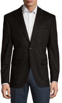 Saks Fifth Avenue Slim Fit Solid Cashmere Sportcoat
