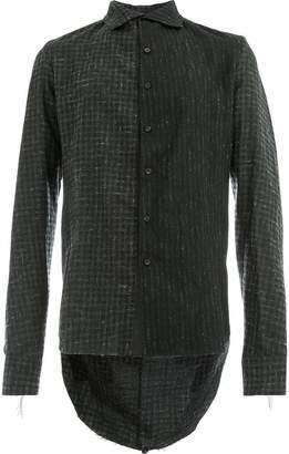 Cedric Jacquemyn printed high low shirt