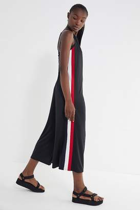 Urban Outfitters Karina Side Stripe Wide Leg Jumpsuit