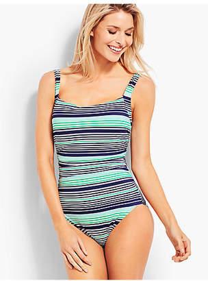 Talbots Cabana One-Piece-Fresh Stripe
