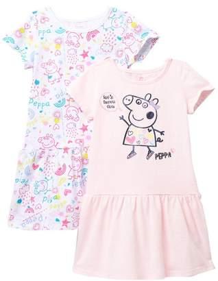 Peppa Pig HAPPY THREADS Dress - Set of 2 (Toddler & Little Girls)