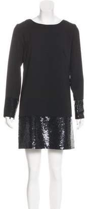 Trina Turk Sequined Shift Dress