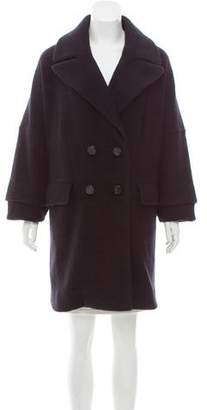 Marc by Marc Jacobs Double-Breasted Angora-Wool Blend Jacket w/ Tags